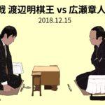 叡王戦 渡辺明棋王vs広瀬章人八段
