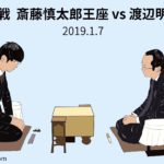 斎藤慎太郎王座vs渡辺明棋王、叡王戦