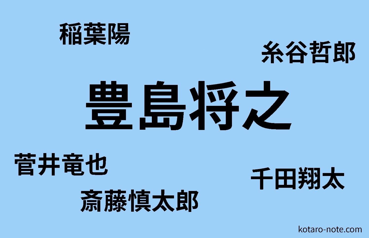 豊島将之二冠と関西若手棋士