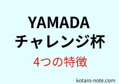YAMADAチャレンジ杯の4つの特徴